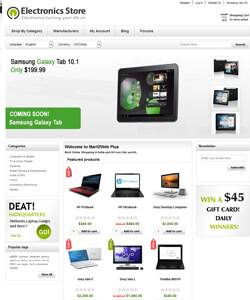 create ecommerce website